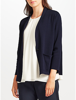 John Lewis Shawl Collar Cardigan, Navy