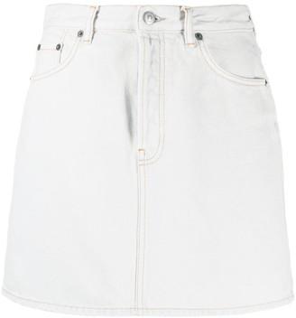 Acne Studios High-Rise Denim Skirt