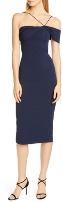 Cushnie Asymmetrical Pencil Dress