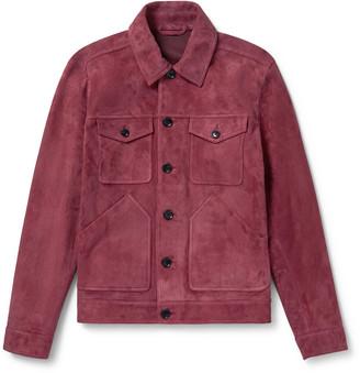 Mr P. Suede Trucker Jacket