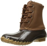 Western Chief Women's Four Eye Duck Boot, Chocolate, 10 M US