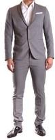 Daniele Alessandrini Men's Grey Polyester Suit.