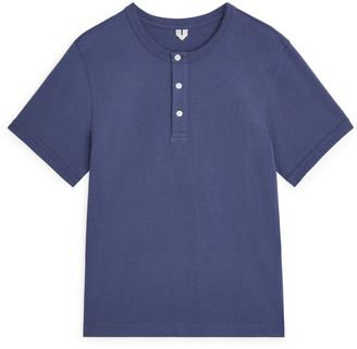 Arket Heavyweight Henley T-Shirt