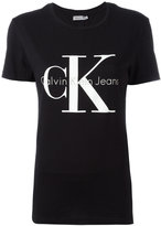 Calvin Klein Jeans shortsleeved logo T-shirt - women - Cotton - L