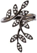 Joelle Gagnard Jewellery diamond leaves ring