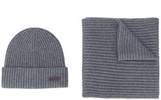 DSQUARED2 Knitted Beanie And Scarf Set