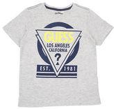 Guess Triangle Logo Cotton Tee
