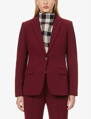 Theory Single-breasted woven blazer
