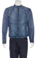 J. Lindeberg Distressed Puffer Jacket