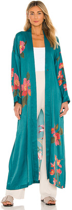 House Of Harlow x REVOLVE Maxi Robe With Fringe