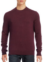 Black Brown 1826 Wool Crew Neck Sweater