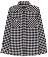 Babe & Tess Gingham Shirt with Pocket