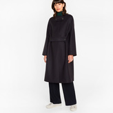 Paul Smith Women's Navy Wool-Cashmere Opera Coat