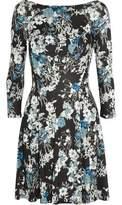 Erdem Vivi Floral-Print Jersey Mini Dress