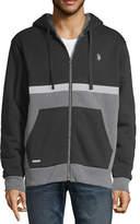U.S. Polo Assn. Uspa Hooded Midweight Fleece Jacket