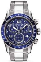 Tissot V8 Men's Blue Chronograph Sport Watch, 42.5mm