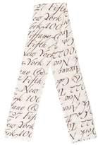 Tiffany & Co. Cashmere & Silk-Blend Scarf