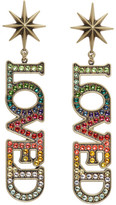 Gucci Gold Small loved Earrings