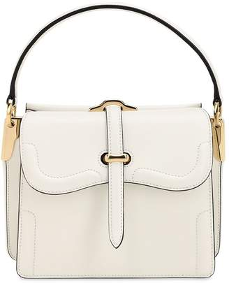 Prada Belle City Leather Top Handle Bag