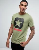 Converse Box Star T-shirt In Green 10001969-a05