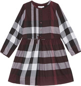Burberry Cassi check pattern dress 4-14 years