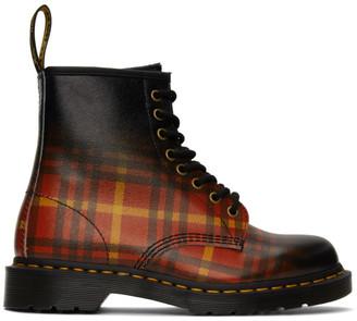 Dr. Martens Multicolor 1460 Tartan Boots