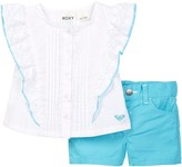 Roxy Diana Top & Short Set (Toddler Girls)