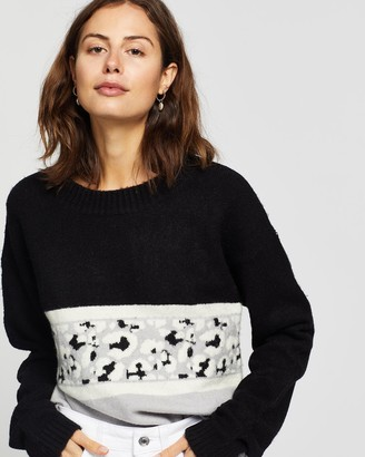All About Eve Leopard Knit