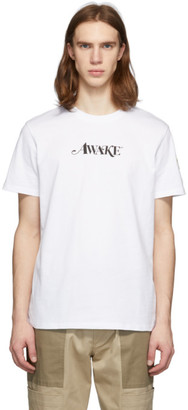 MONCLER GENIUS 2 Moncler 1952 White Awake NY Edition Logo T-Shirt