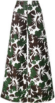 Rosie Assoulin B Boy tropical print trousers - women - Cotton/Viscose - 0