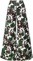Rosie Assoulin B Boy tropical print trousers - women - Cotton/Viscose - 0