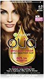 Garnier Olia Oil Powered Permanent Hair Color, 6.0 Light Brown (Packaging May Vary)