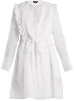 Calvin Klein 205w39nyc - Broderie Anglaise Cotton Organza Dress - Womens - White