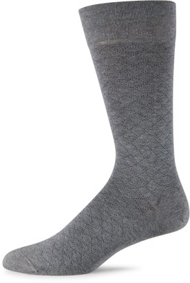Marcoliani Milano Micro Argyle Cotton Socks