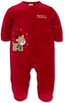 Little Me Baby Boys' 1-Pc. Footed Reindeer Pajamas