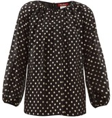 Max Mara Giulia Blouse - Womens - Black Multi