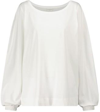 Dries Van Noten Cotton jersey top