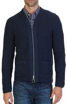 Nautica Zip-Front Shawl Collar Cardigan