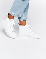 Fred Perry Ellesmere Mid Leather Sneakers