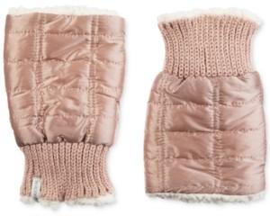 Isotoner Signature Women's Quilted Fingerless Glove Cozies