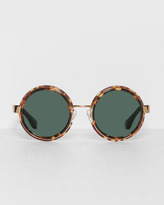 Dries Van Noten Round Sunglasses
