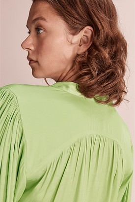 Country Road Recycled Polyester Popover Blouse