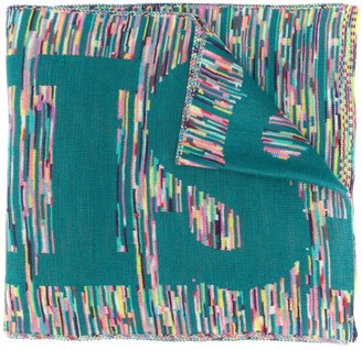 Missoni Logo Knitted Scarf