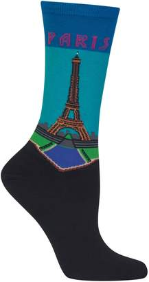Hot Sox Paris Crew Socks