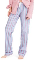 J.Crew Women's Candy Cane Pajama Pants