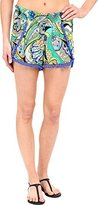 Trina Turk Women's Nomad Paisley Cover Up Shorts