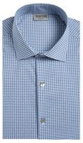 Kenneth Cole Reaction Techni-Cole Slim-Fit Checked Dress Shirt