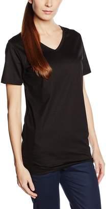 Trigema Women's Damen V-Shirt - Slim Fit T-Shirt