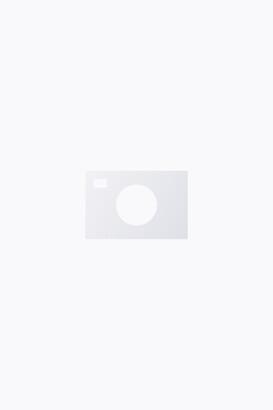 Monki Notched collar shirt
