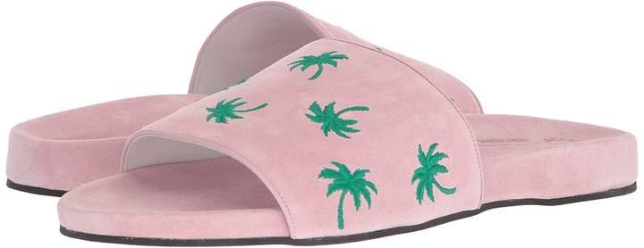 Del Toro Suede Pool Slide Men's Sandals
